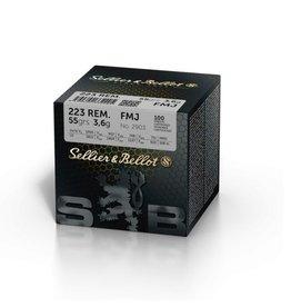 Sellier & Bellot Sellier & Bellot .223 REM FMJ 55 grain