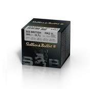 Sellier & Bellot Sellier & Bellot 303 British FMJ 180grain