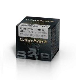 Sellier & Bellot Sellier & Bellot 303 British FMJ 180grain