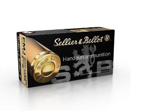 Sellier & Bellot Sellier & Bellot 9mm LUGER FMJ 124 grain