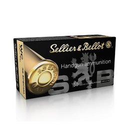Sellier & Bellot Sellier & Bellot  .38 Special WC 148grain