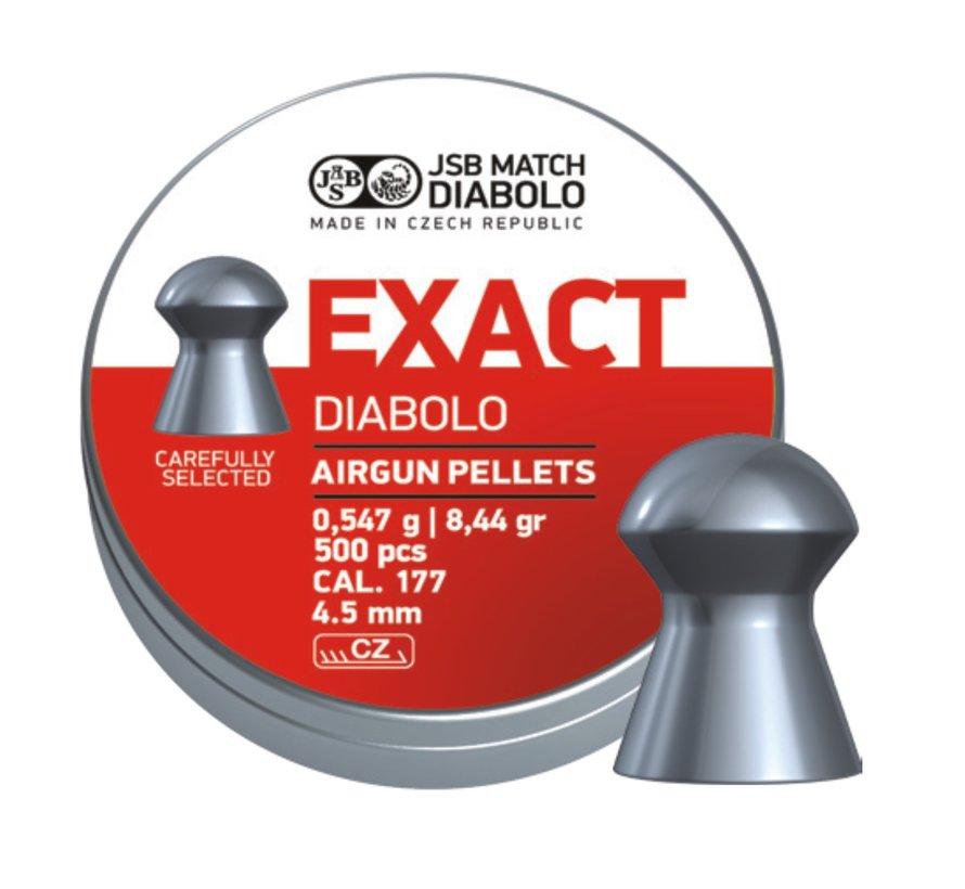 JSB Exact Diabolo 4.51mm 8,44 gr