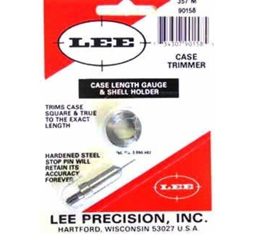 Lee 90158 Length Gauge & Shellholder 357 Mag.