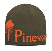 Pinewood Pinewood melange muts groen