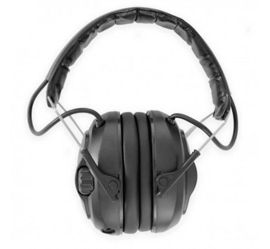 Diffusor elektronische oorkappen  zwart van Radians