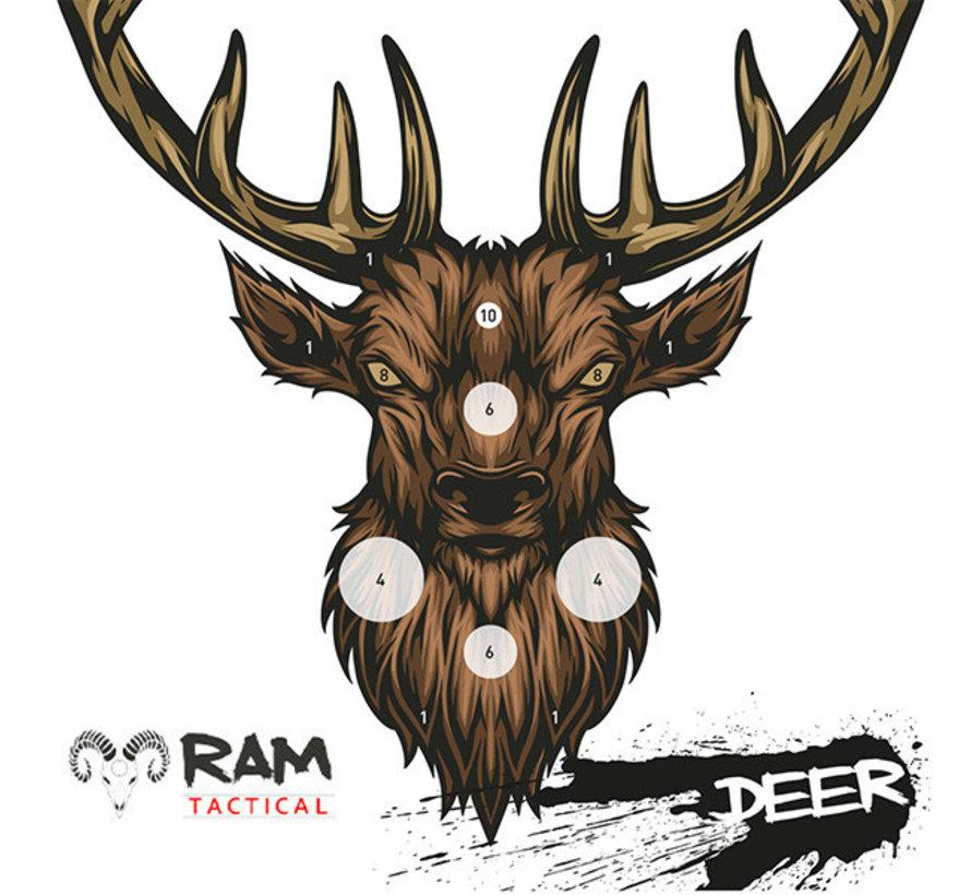 14x14 Deer target by RAM Targets