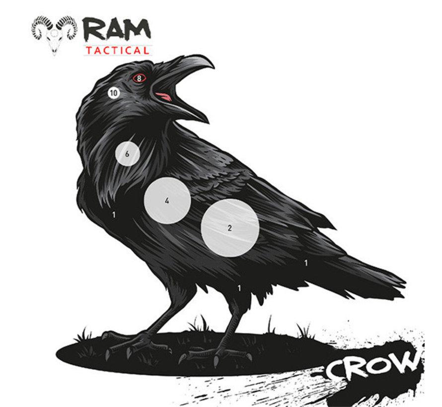 14x14 Crow target by RAM Targets