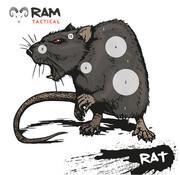 RAM Targets 14x14 schietkaart Rat