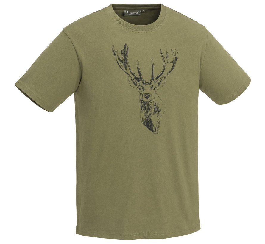 T-Shirt Red Deer by Pinewood