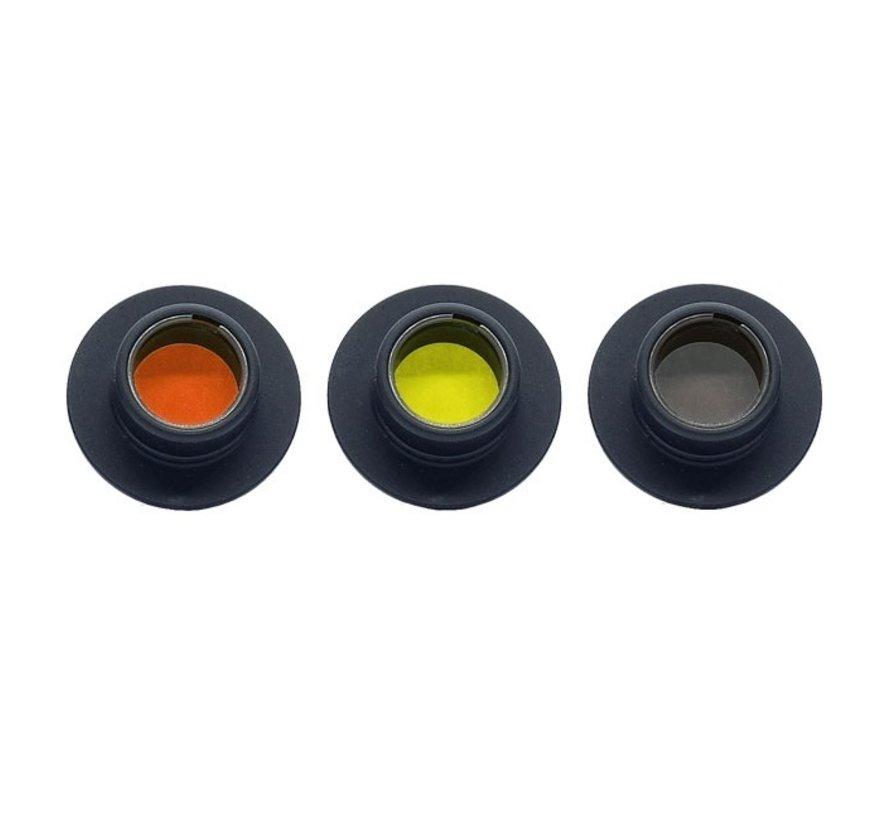 392 Gehmann 3- colour filter set for 390 Iris