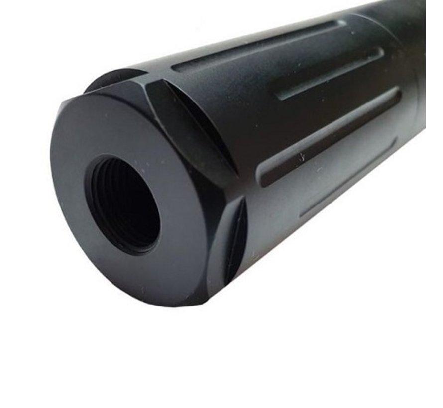Huma-Air Mod 30-4 /0 Airgun Silencer 1/2 UNFx20