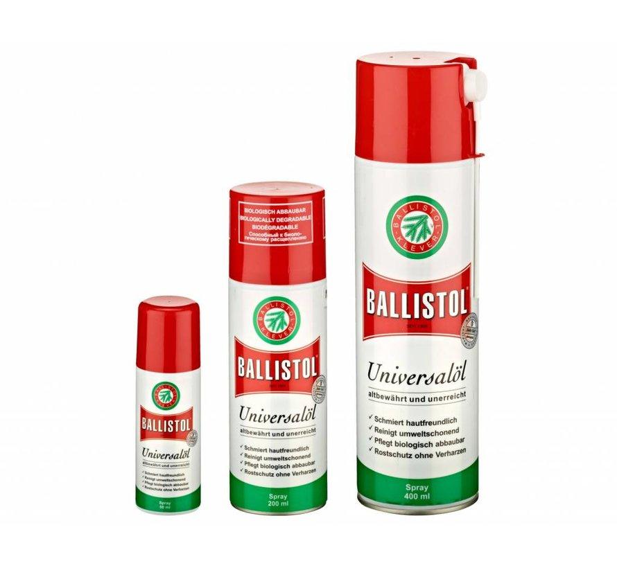 Wapen olie spray van Ballistol