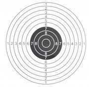 ASG Shooting target 14x14 cm
