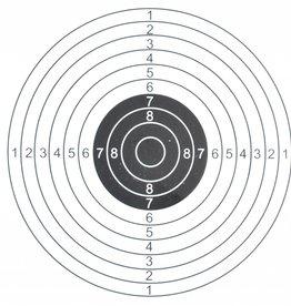 ASG Schietkaart 14x14 cm