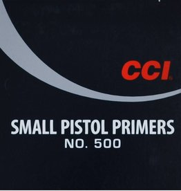 CCI CCI Small Pistol Primers NO.500