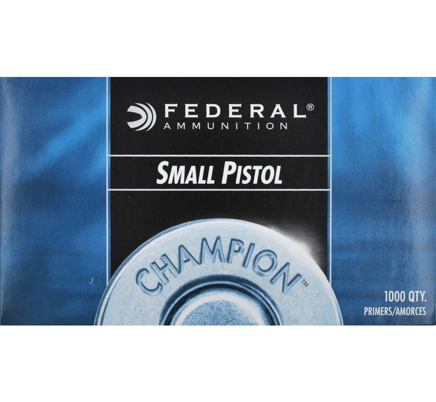 Small Pistol Primer NO.100 van Federal