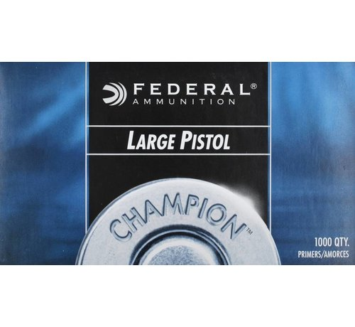 Federal Large Pistol Primer NO. 150 by Federal
