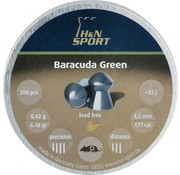 Haendler & Natermann H&N Baracuda Green 6,48gr. 4.5mm.