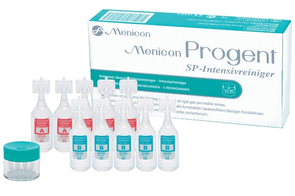 Menicon Menicon Progent 10x5 ml A& B + lenshouder