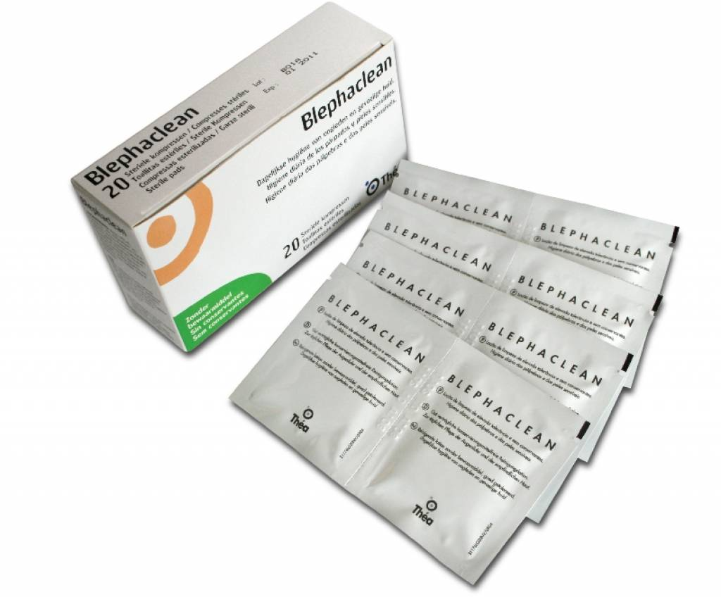 Thea Pharma: Blephaclean (20 stuks) - 4 voor 9,99 per stuk