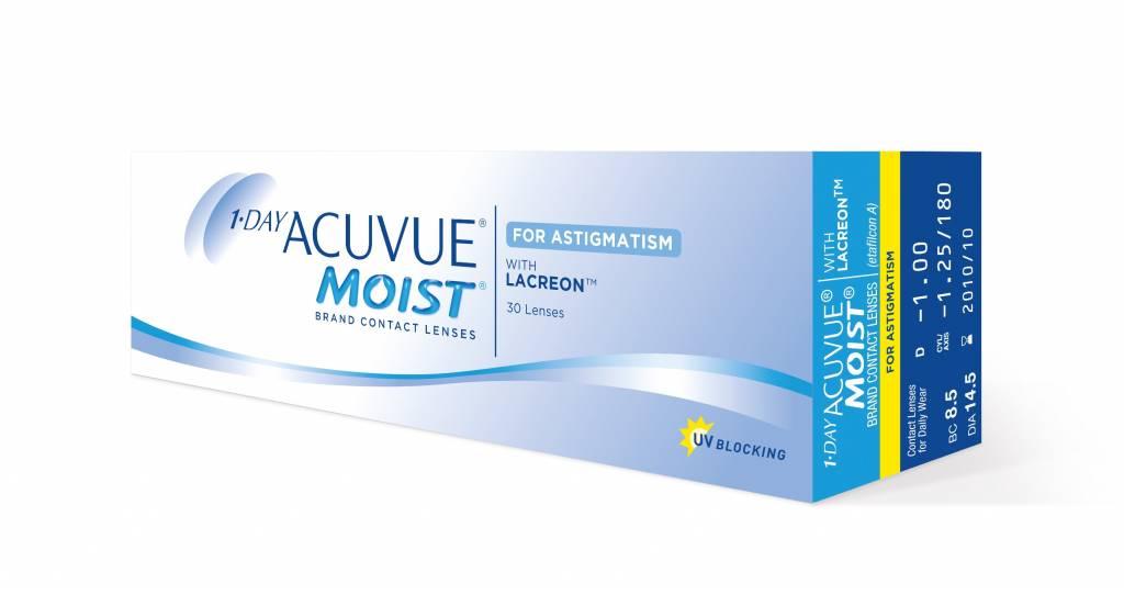 Johnson & Johnson 1 Day Acuvue Moist for Astigmatism (30 - pack)
