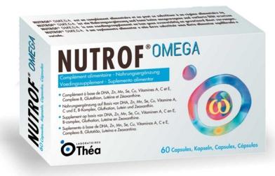 Thea Pharma: Nutrof Omega (60 caps) - 4 voor 21,99 per stuk