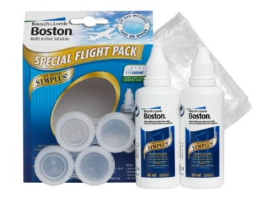 Bausch & Lomb: Boston Simplus FLIGHT PACK - reisverpakking
