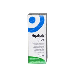 Thea Pharma: Hyabak 10 ml