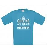 Queens are born in December ( ook andere maanden )