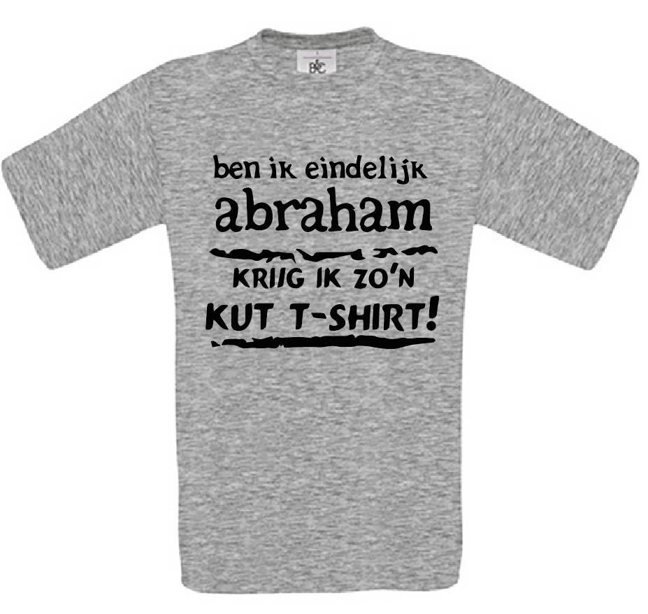 Ben ik eindelijk Abraham - Kut T-Shirt