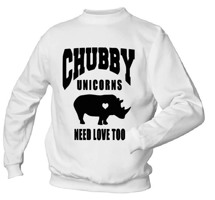 Chubby Unicorn needs love to