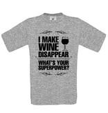 I make Wine Disappaer