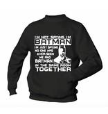 I'm not Batman