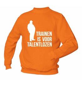 Trainen Is Voor Talentlozen