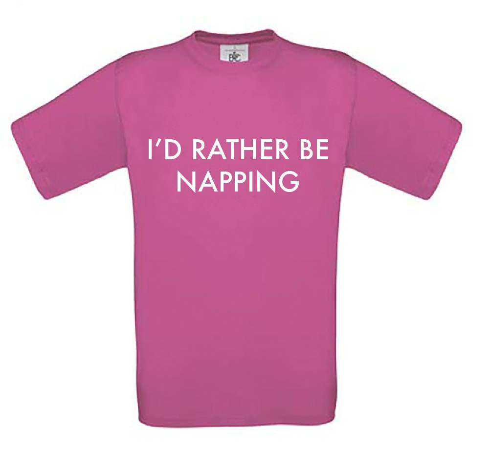 I'd Rather Be Napping