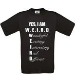 Yes, I Am W.E.I.R.D