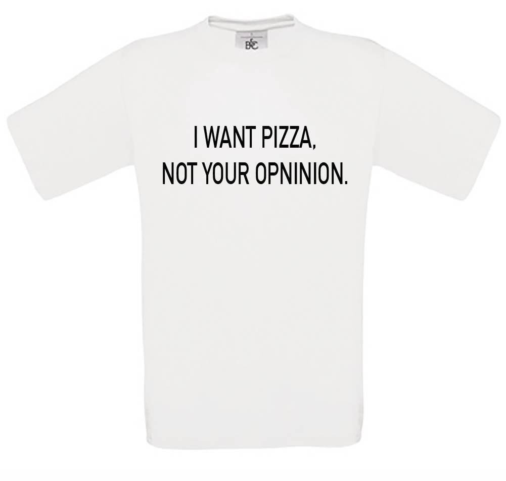 I Want Pizza