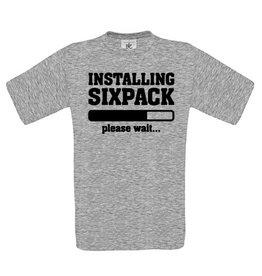 Installing Sixpack - Please Wait