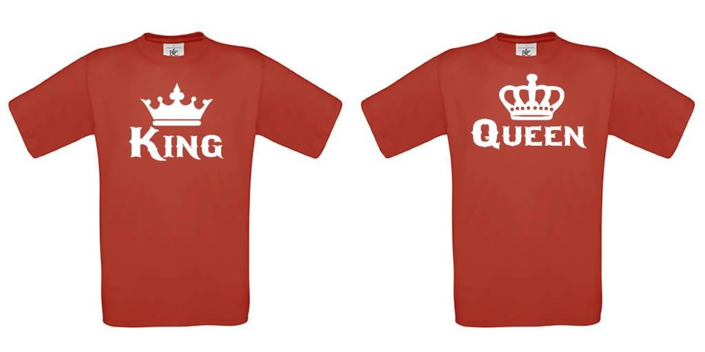 Set van King & Queen