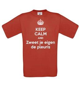 Keep calm and zweet je eigen de pleuris