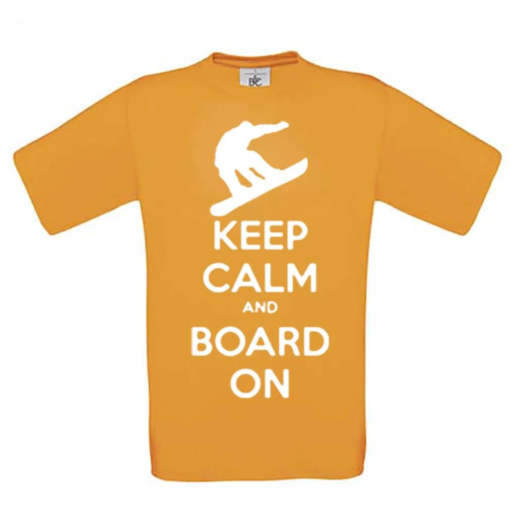 Keep calm and board on