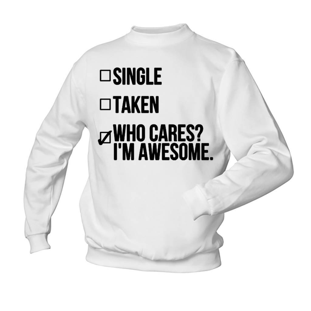 Single, taken, who cares?