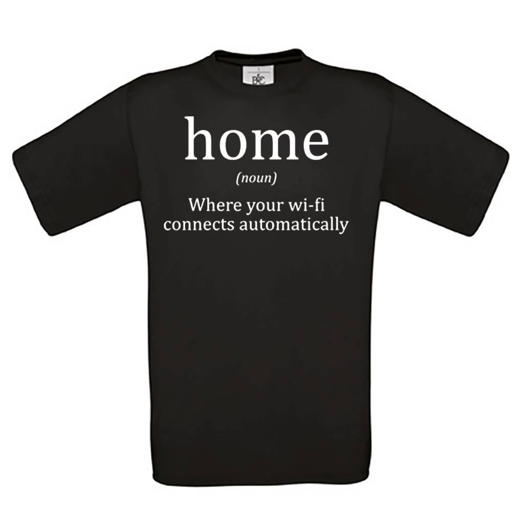 Home - where your wi-fi connects