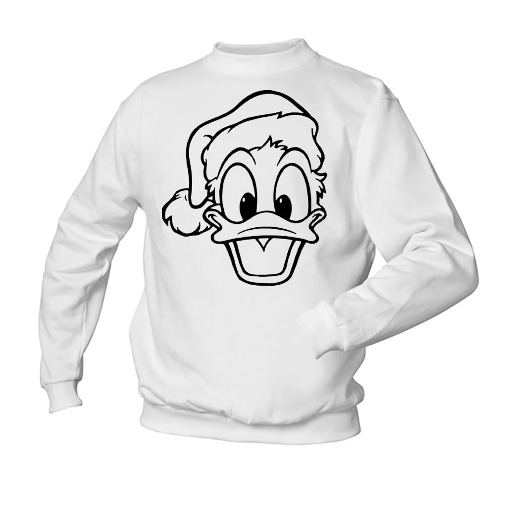 Donald Duck met muts