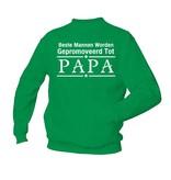 Beste Mannen Worden Gepromoveerd Tot PAPA