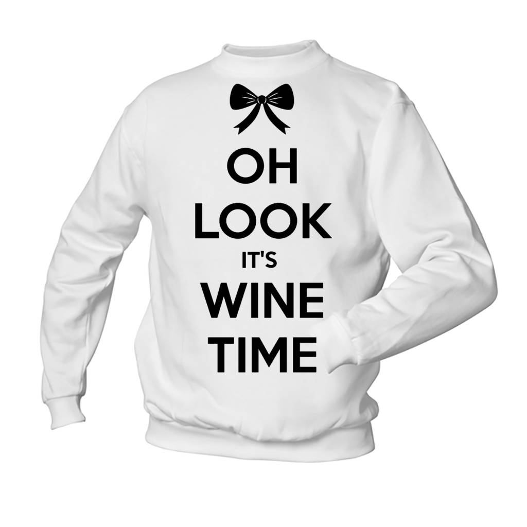 Oh look it's wine time