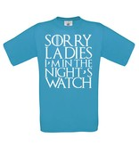 Sorry ladies - night's watch