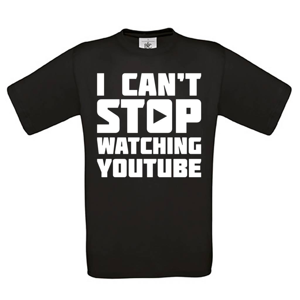 I can't stop watching youtube