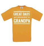 Great Dads get promoted to Grandpa