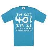 I'm not 40! - experience